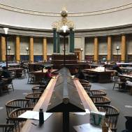 This is inside the #Manchester Central Library and reminiscent of many great libraries like those in our great universities. Image 195 of #365TravelPics