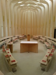 A niche tweet but if passing through the Cotswolds & Cuddesdon then the Bishop Edward King Chapel at the college is a spectacular example of modern church architecture. #England #UK #TravelAtHome Day 230 of #365TravelPics